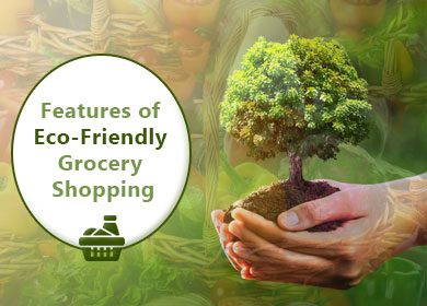 What are the essential features of Eco-Friendly Grocery Shopping?