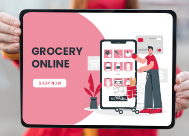 What are some good aspects of grocery shopping going digital?