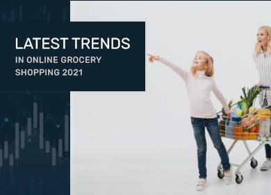 What are all the latest Trends in Online Grocery Shopping 2021?