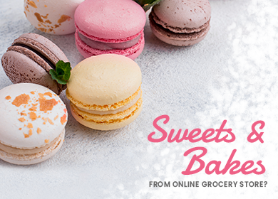 Why should you try sweets and bakes from an online grocery store?