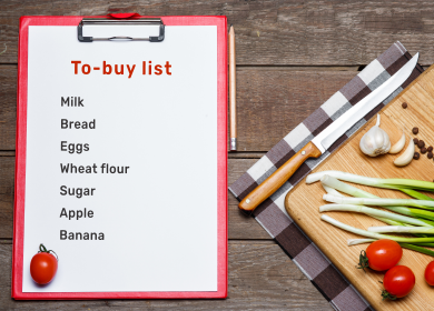 6 Reasons Why Customers Should Prepare a Grocery List Before Ordering Online?
