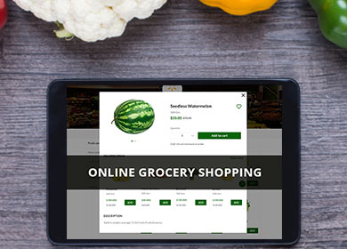 How Technology impacts grocery shopping and delivery services?