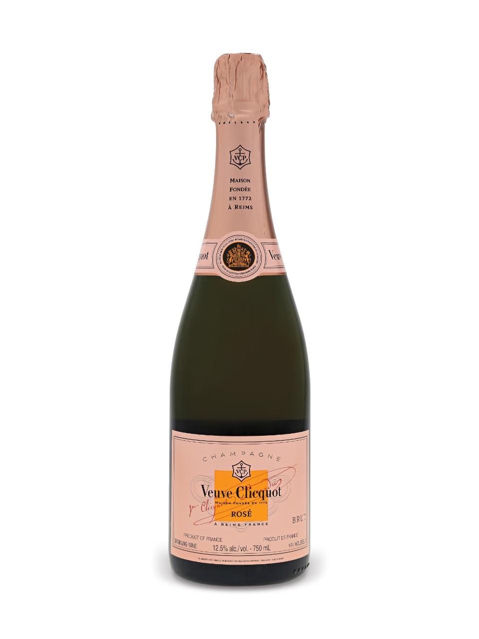 Veuve clicquot rose champagne pinot noir/chardonnay