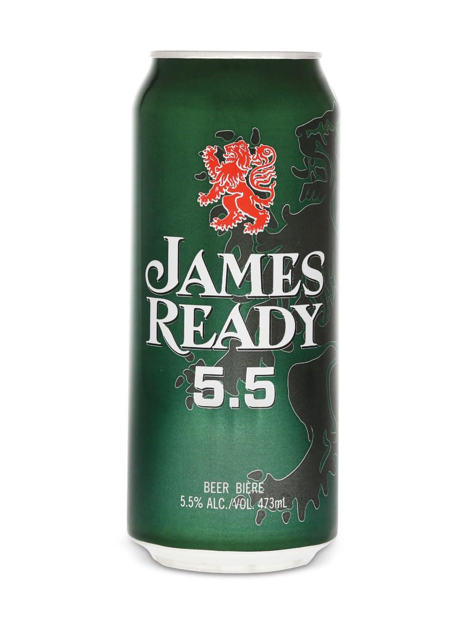 James ready 5.5  6 x 473 ml