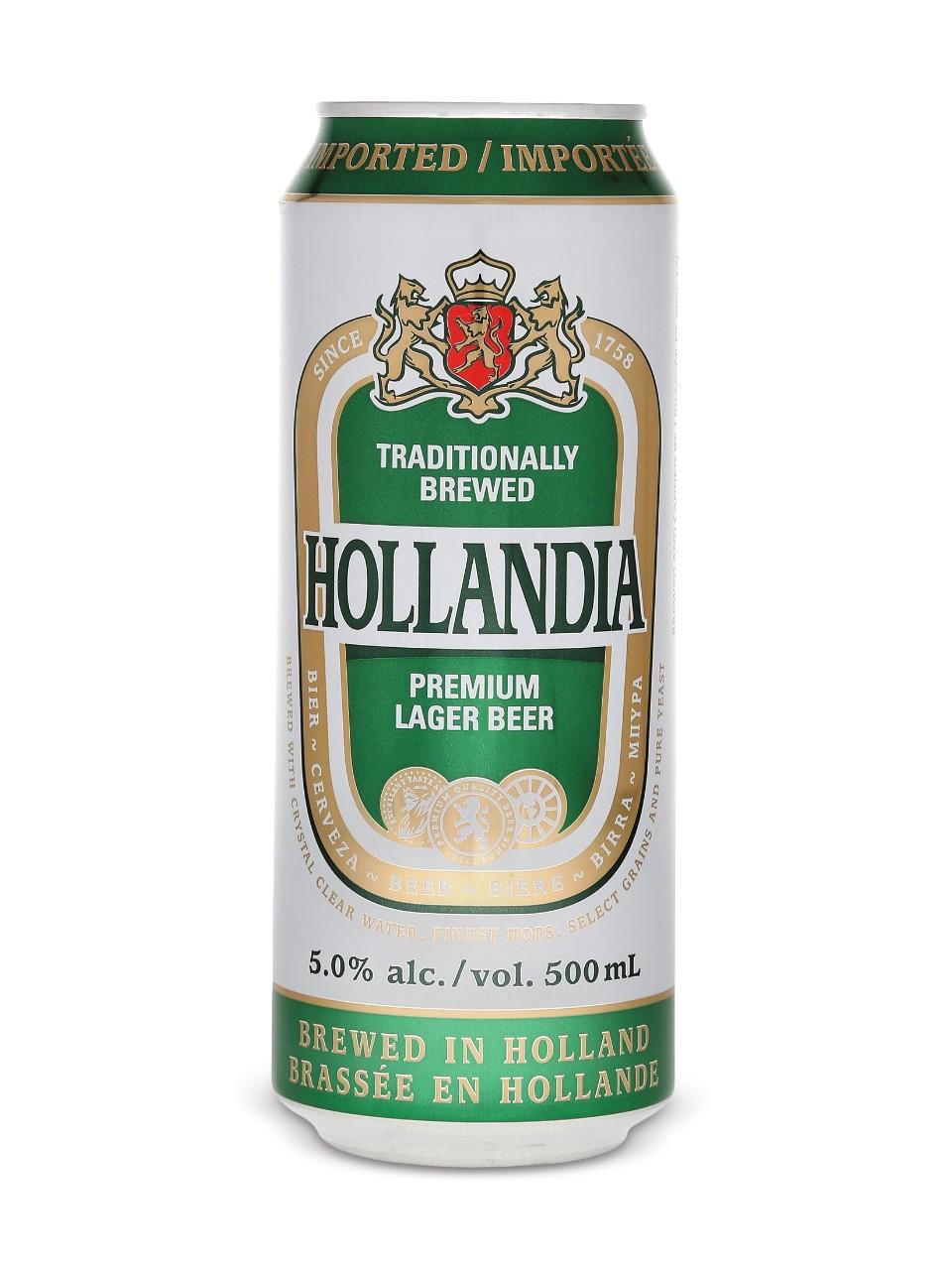 Hollandia lager beer  500 ml