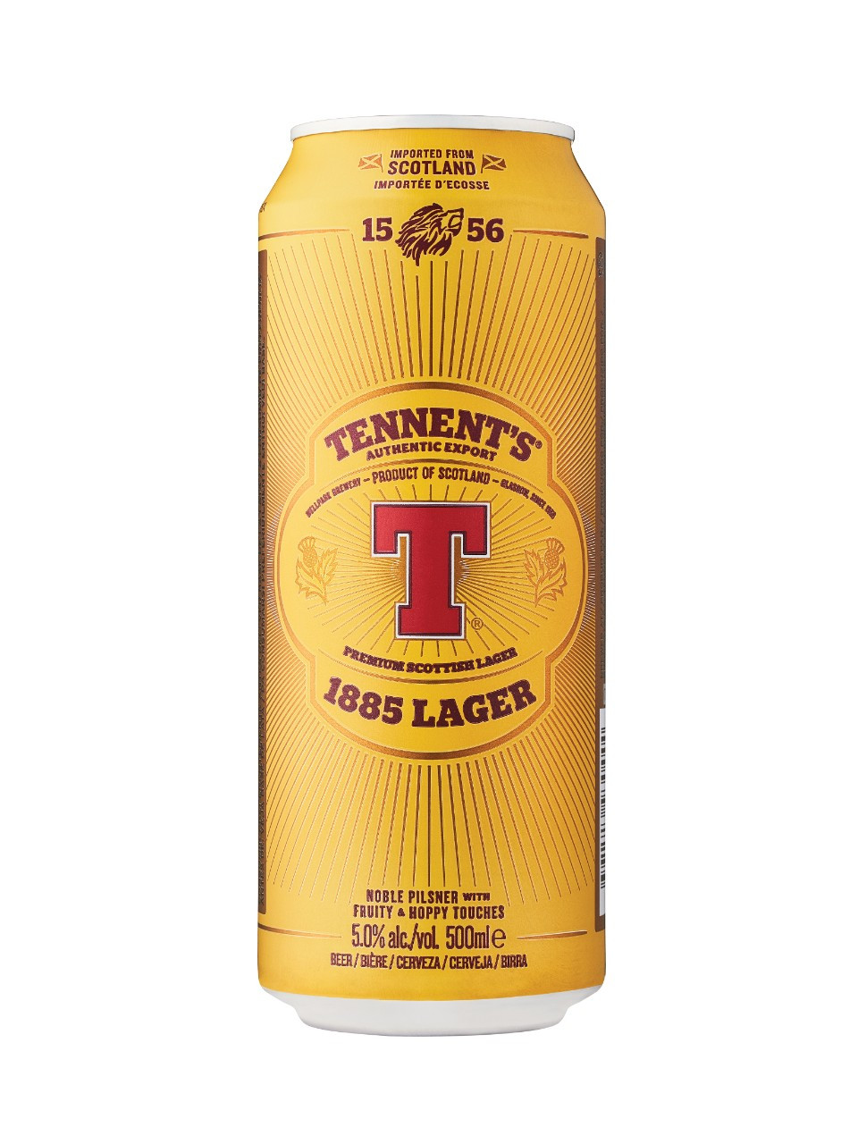 Tennent's export lager  500 ml