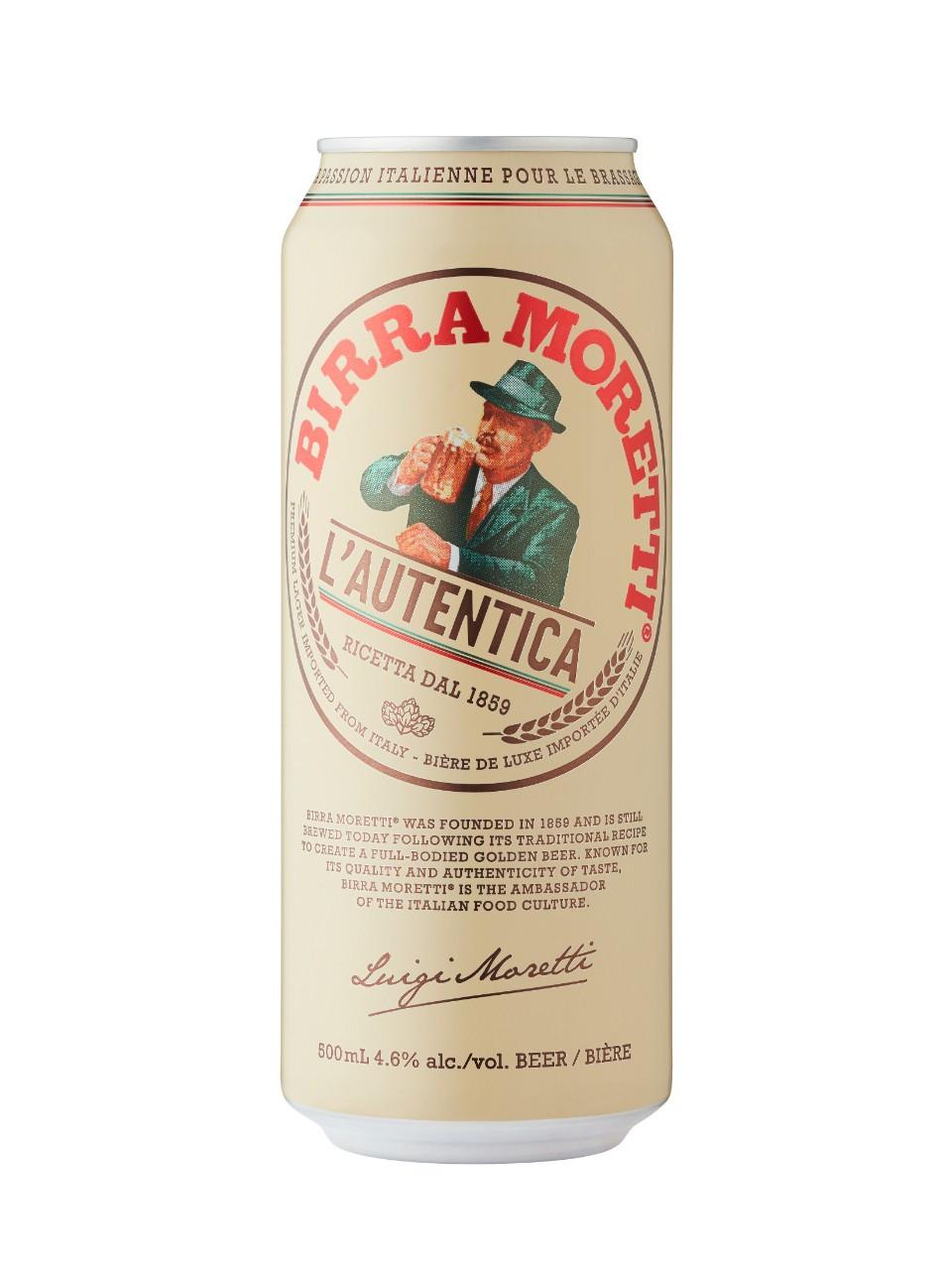 Birra moretti  500 ml