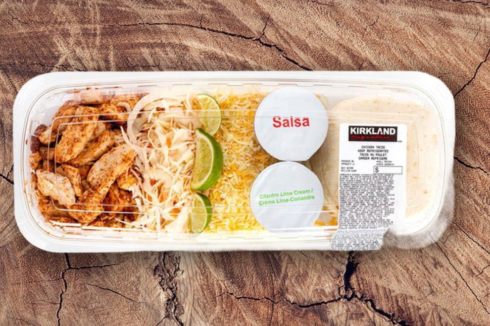Chicken tacos (avg. 1.2815kg)
