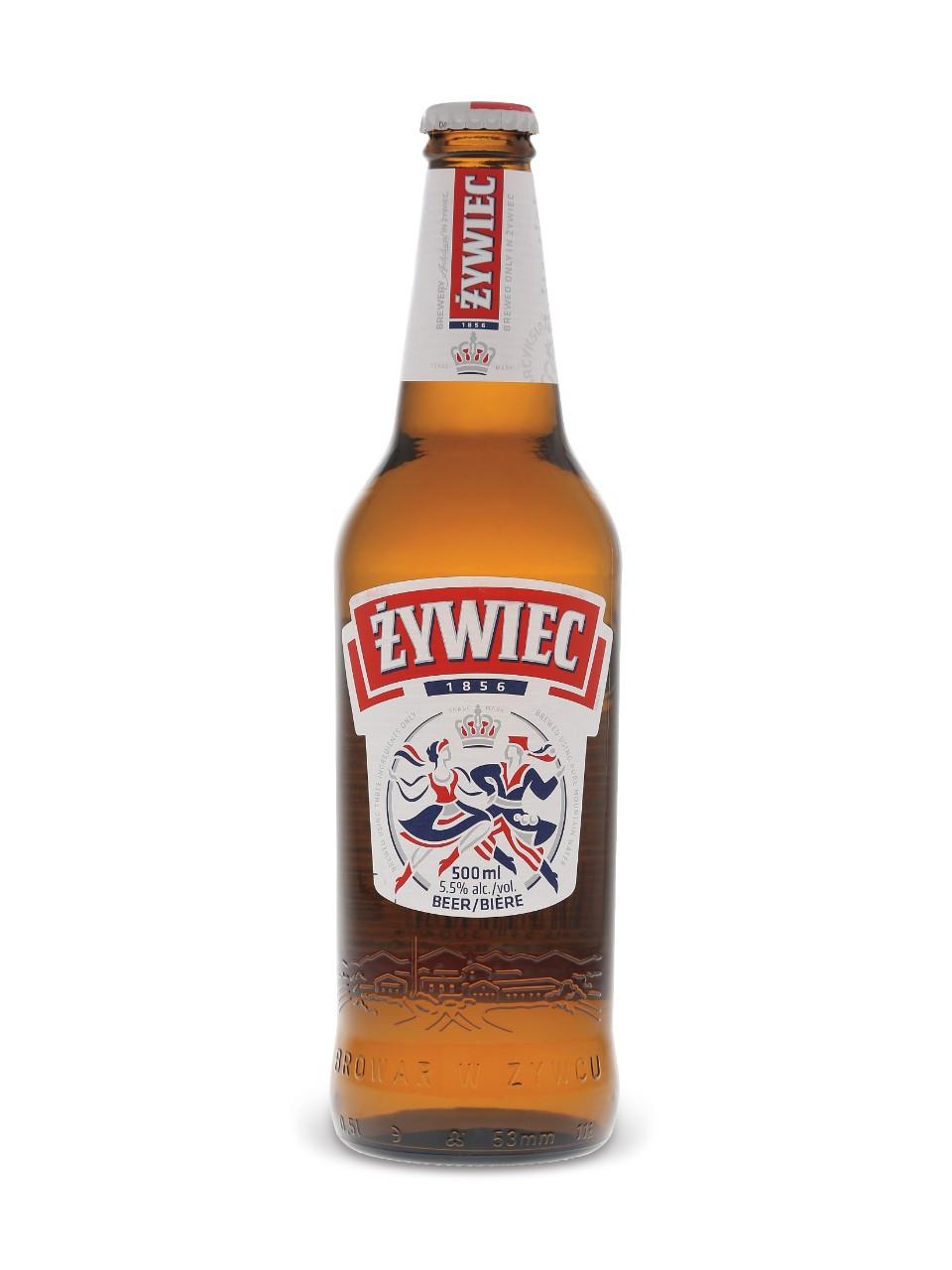 Zywiec beer  500 ml bottle