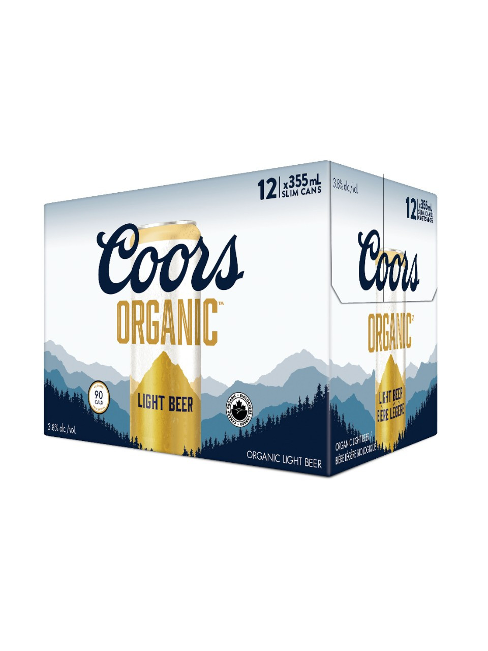 Coors organic  12 x 355 ml