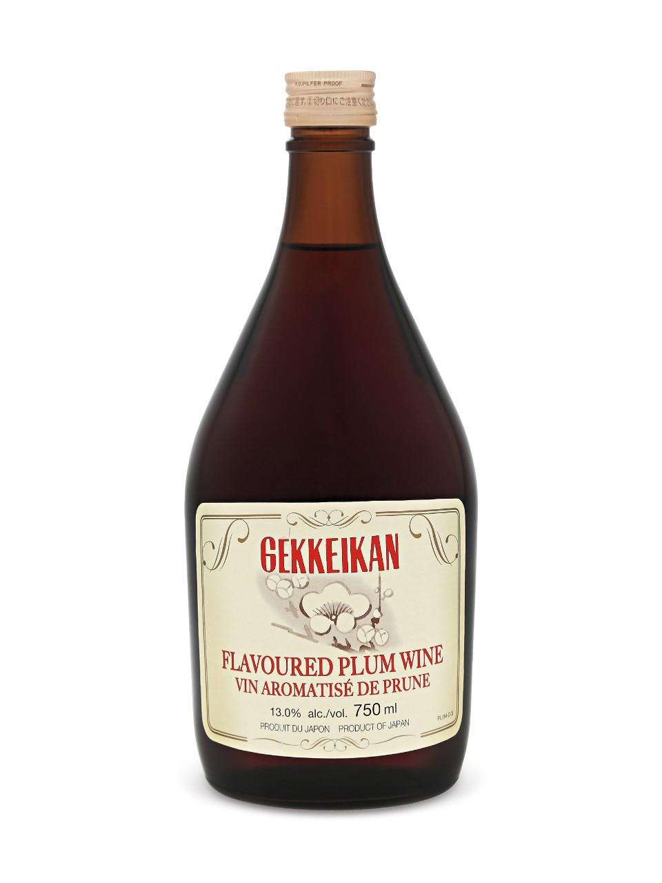 Gekkeikan plum wine  750 ml bottle