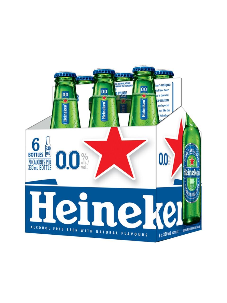 Heineken 0.0  6 x 330 ml bottle