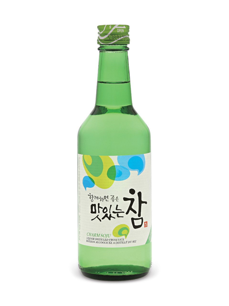 Charm soju liquor  360 ml