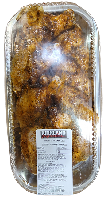 Marinated chicken legs (avg. 2.526 kg)