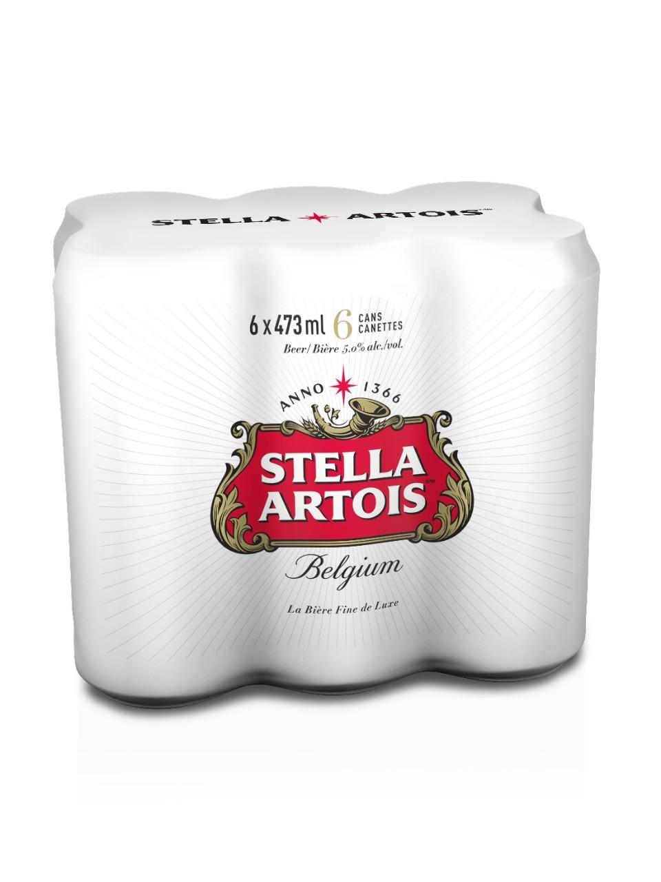 Stella artois  6 x 473 ml