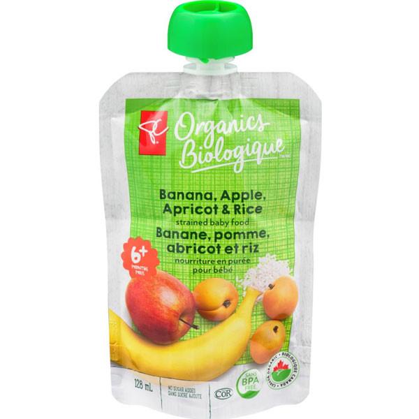 Pc organicsbanana, apple & apricot1
