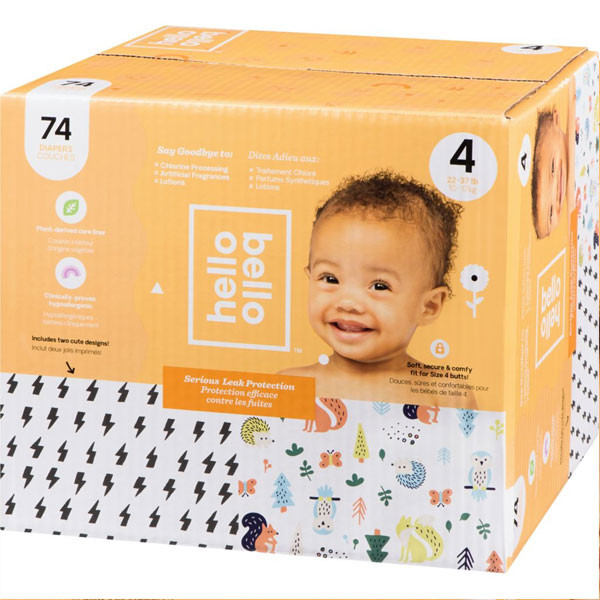 Hello bellodiapers, size 4, 74 count7