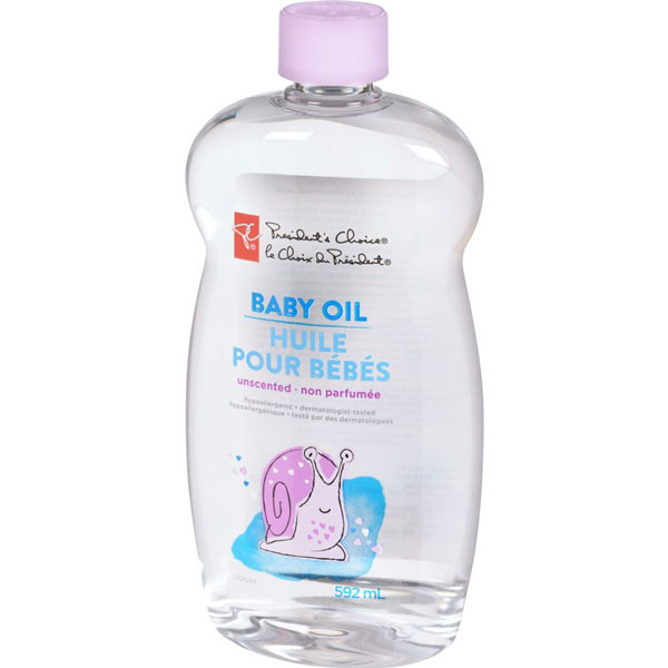 President's choicebaby oil unscented5