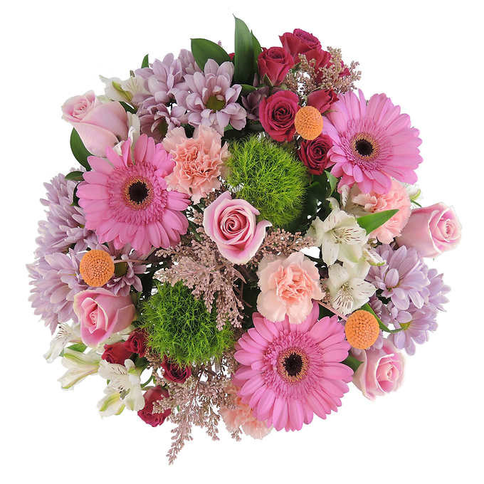 Bouncing baby girl bouquet