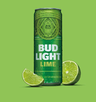 Labatt bud light lime  24 x can 355 ml