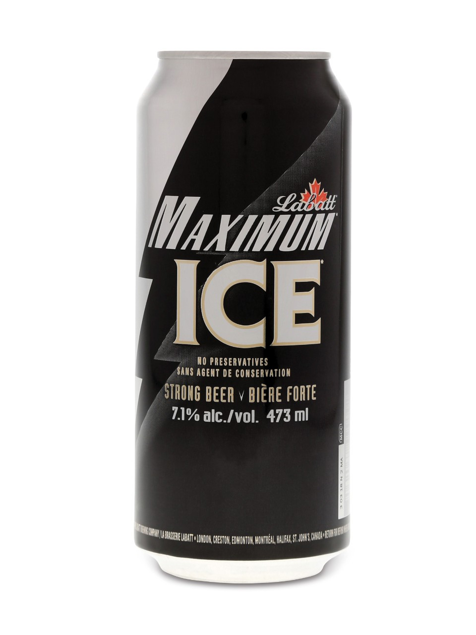 Labatt maximum ice 24 x can 473 ml
