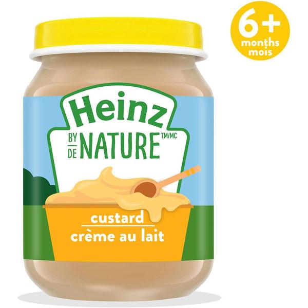 Heinzbaby food - custard1