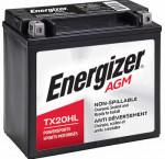 Energizer tx20hl powersport battery
