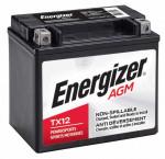 Energizer tx12 powersport battery