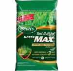 Scotts turf builder green max lawn food 27-0-2 18.9kg