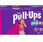 Huggies pull-ups plus training pants 2t - 3t girl, 124-pack