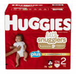 Huggies little snugglers plus, size 2, 174-pack