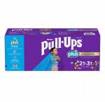 Huggies pull-ups plus training pants, 2t to 3t boy, 124-pack