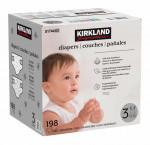 Kirkland signature diapers size 3, 198-count