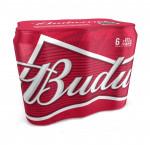 Budweiser  6 x 473 ml