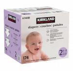 Kirkland signature size 2 supreme diapers 174 ct