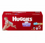 Huggies size 5 little mover plus diapers 162 ct