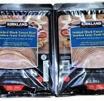 Kirkland signature sliced smoked black forest ham 2 x 500 g