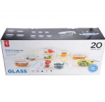 President's choice20 pieceglass food storage set2