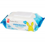 President's choicebaby wipes, unscented 1x