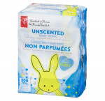 President's choiceunscented baby wipes
