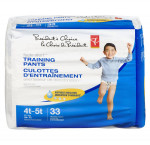 President's choicetraining pants, boys extralarge mega 4t-5
