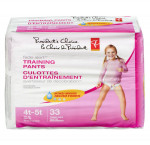 President's choicetraining pants,girls extralarge mega 4t-5