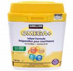 Kirkland signature omega+ infant formula, 1.36 kg