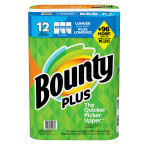 Bounty plus paper towel pack of 12