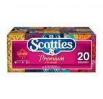 Scotties premium facial tissues pack of 20