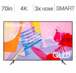 Samsung 70-in. smart 4k qled hdr tv qn70q6dt
