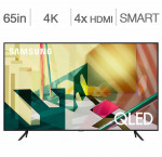 Samsung 65-in. smart 4k qled hdr tv qn65q70t