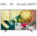 Samsung 55-in. smart 4k qled hdr tv qn55q70t