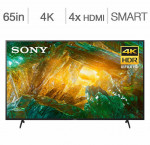 Sony 65-in. 4k hdr android smart tv xbr65x800h