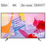Samsung 55-in. smart 4k qled hdr tv qn55q60t
